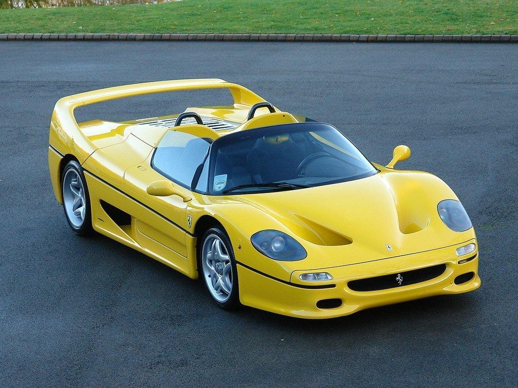 Ferrari F50 106535 Tom Hartley Jnr