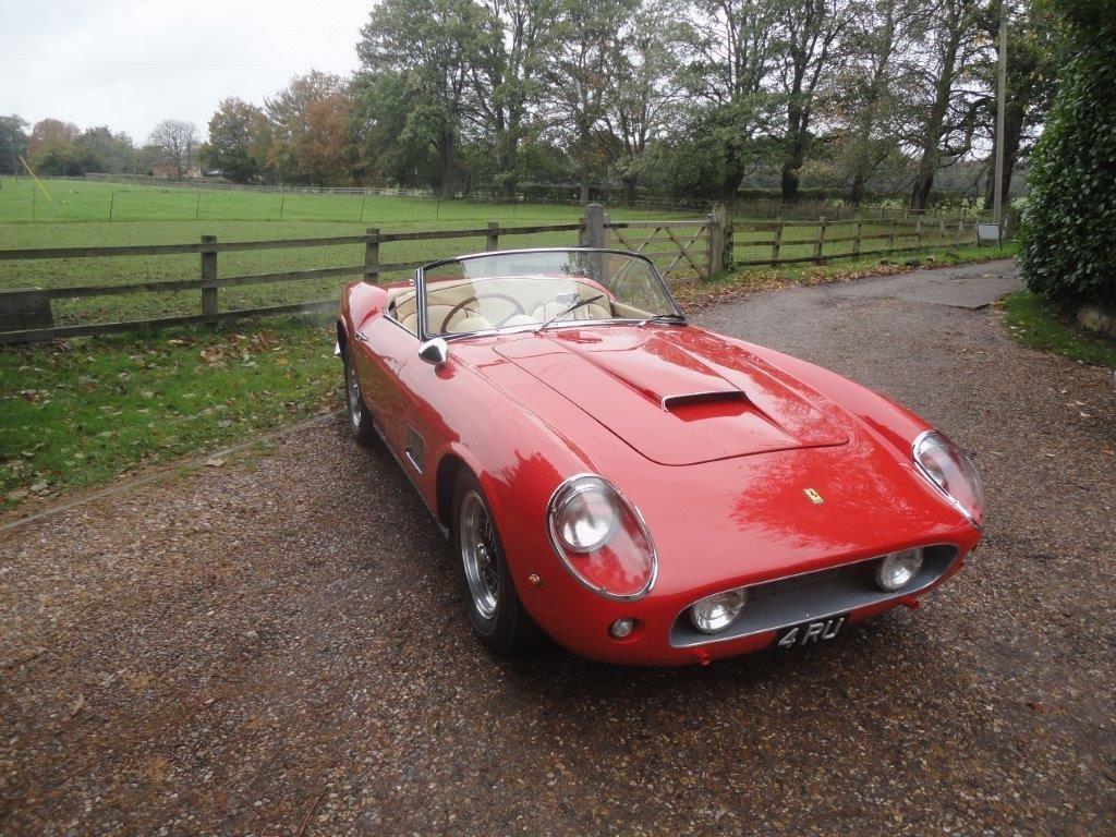 Ferrari 250 Gt Swb California Spider Rhd 2591 Gt Tom Hartley Jnr