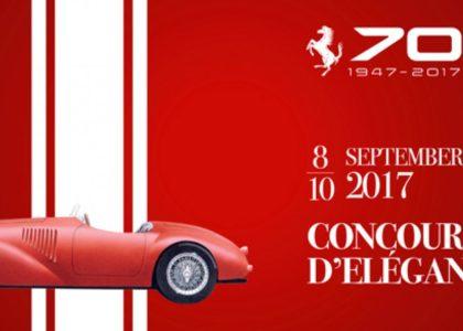 Ferrari's 70th Anniversary Concours D'Elegance 2017