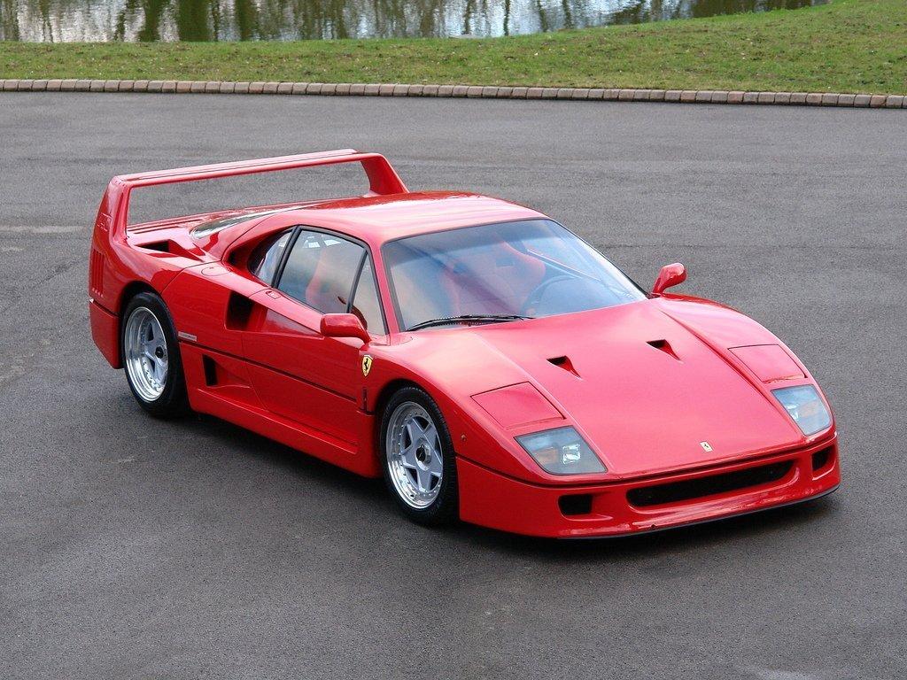 Ferrari F40 92696 Tom Hartley Jnr
