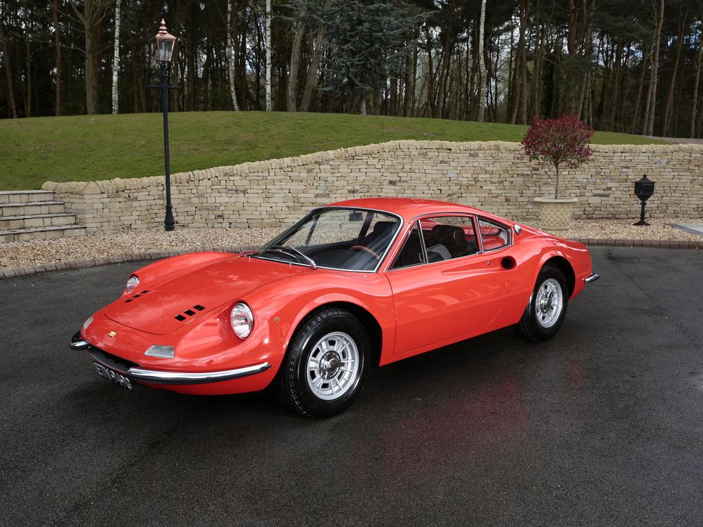 Ferrari Dino 206gt 00152 Tom Hartley Jnr