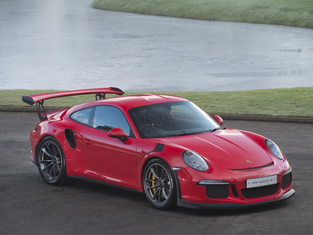 Porsche 911 Gt3 Rs 991 190224 Tom Hartley Jnr