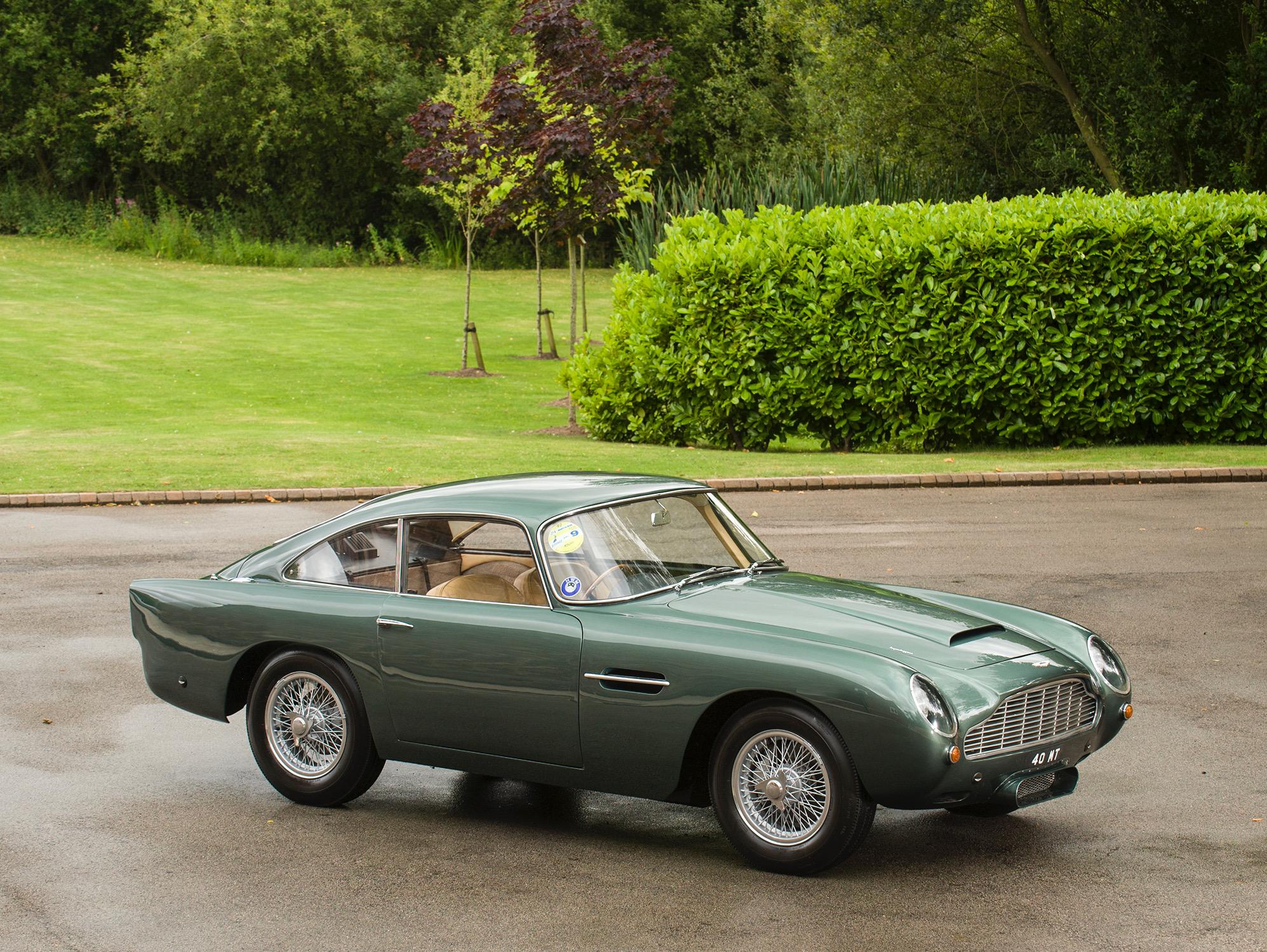 Aston Martin Db4 Gt Leichtgewicht 0167 R Tom Hartley Jnr