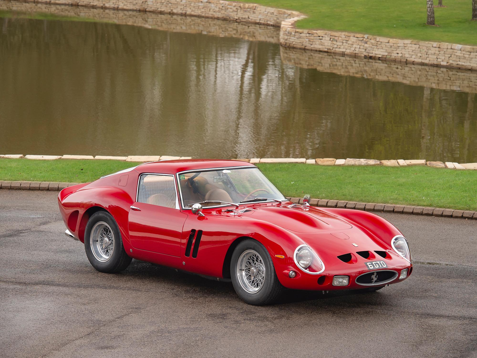 FERRARI 250 GTO , 3527 GT , Tom Hartley Jnr