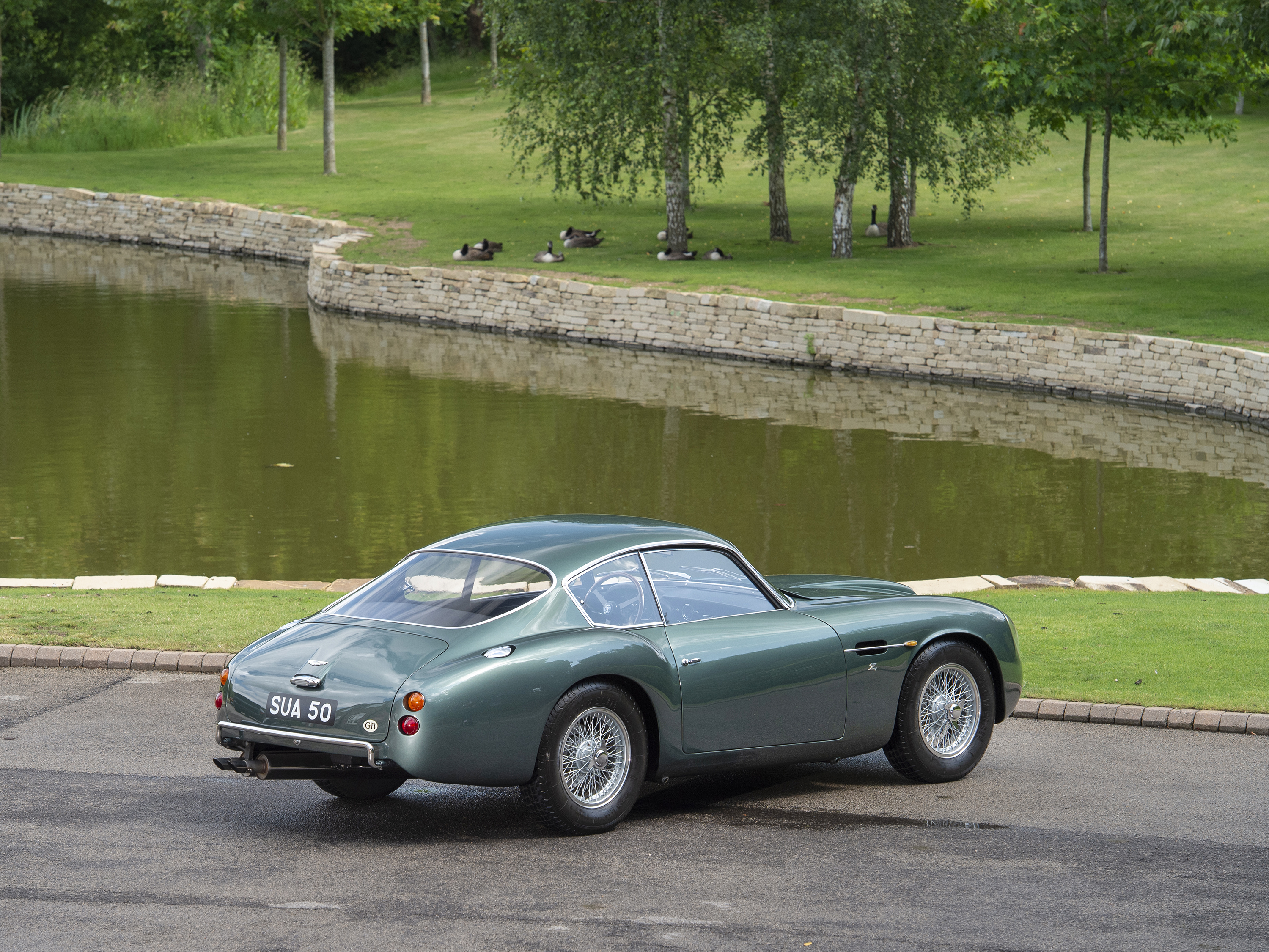 Aston Martin Db4gt Zagato 0181 L Tom Hartley Jnr