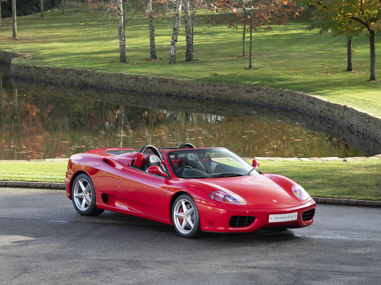 Ferrari 360 Spider 123745 Tom Hartley Jnr